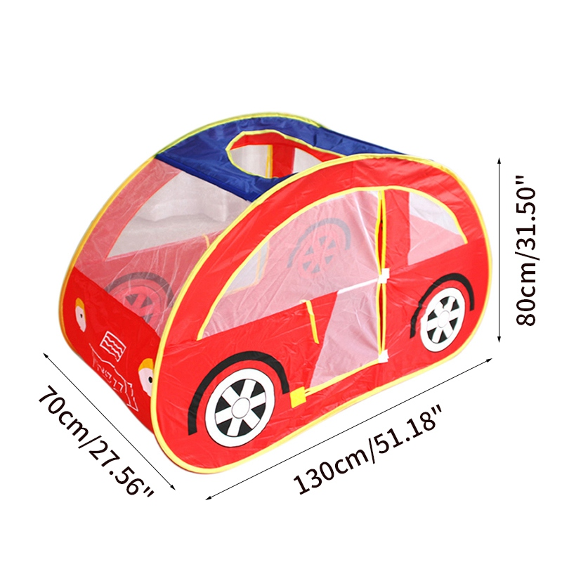 Hot Sale Children Playhouse Toy Tent Foldable Car Play Tent Baby Ball Pool Indoor Outdoor Play House Toy for Kids Baby Play Tent