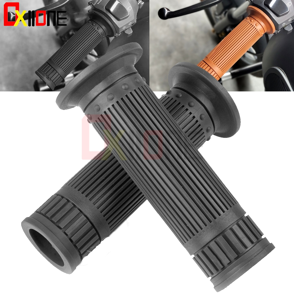 1 Pair Universal Sports Bikes Bicycle Aiuminum Handle Rubber Gel Hand Grips AB