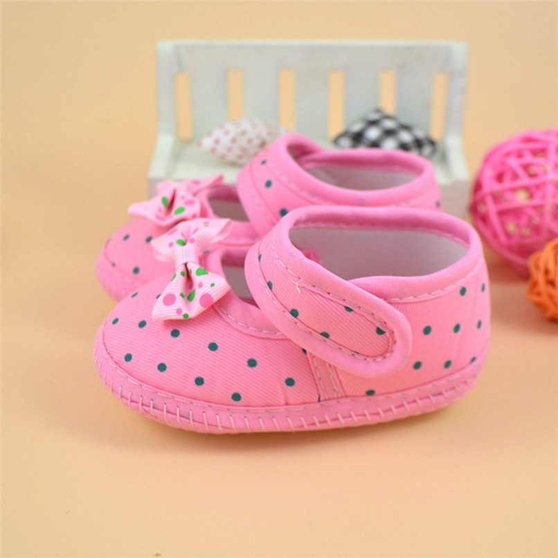 Fashion Baby Girl First Walker Kids Bowknot Boots Soft Crib Shoes NDA84L16 (10)