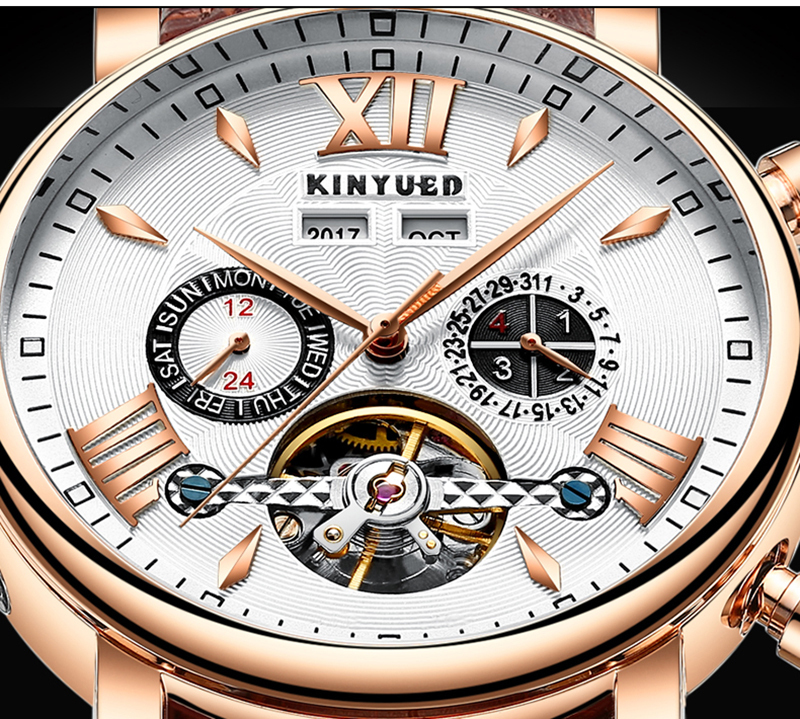 Precise Mechanical Automatic Mens Watch Flying Tourbillon Leather Waterpoof Business Watches Office Party Sport Daily Life Gift (12)