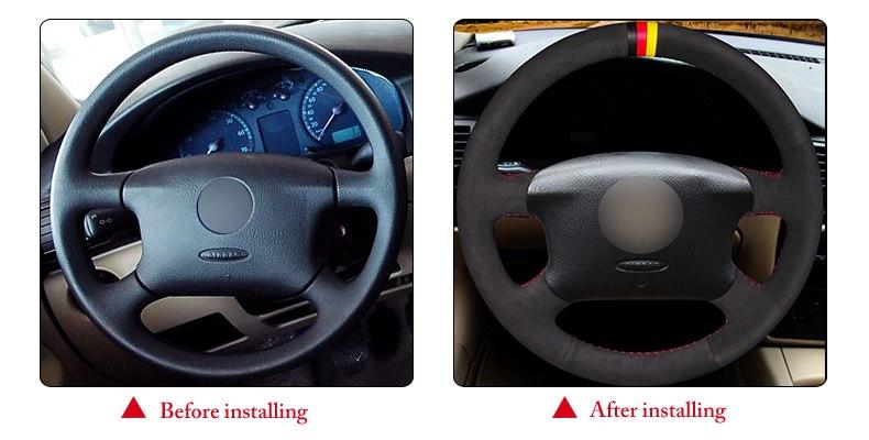 for VW Golf 4 steering wheel cover