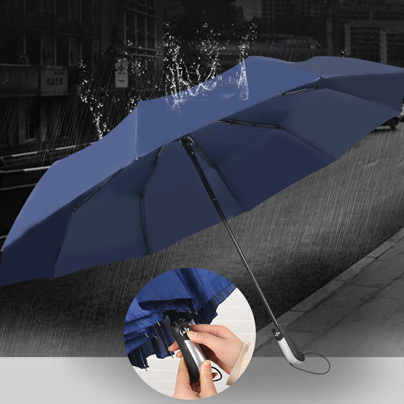 YADA High Quality Audi Mercedes-Benz Automatic Umbrella Rain uv Fold Umbrella Ca