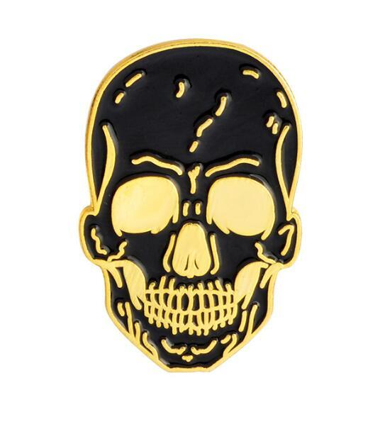 Skull /& Crossbones Pirate Nautical Biker Quality enamel lapel pin badge
