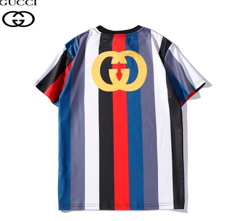 DDJJ-377 Paris Brand T Shirt Мода Tide Футболка для Мужчин Рубашки Письмо Печати Случайные Мужчины Женщины Тройник с Шейным вырезом
