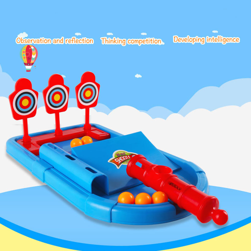 Kid Desktop Toys Marbles Bow And Arrow Shooting Game Parent Child Family Fun Interactive Game Children's Birthday Christmas Gift