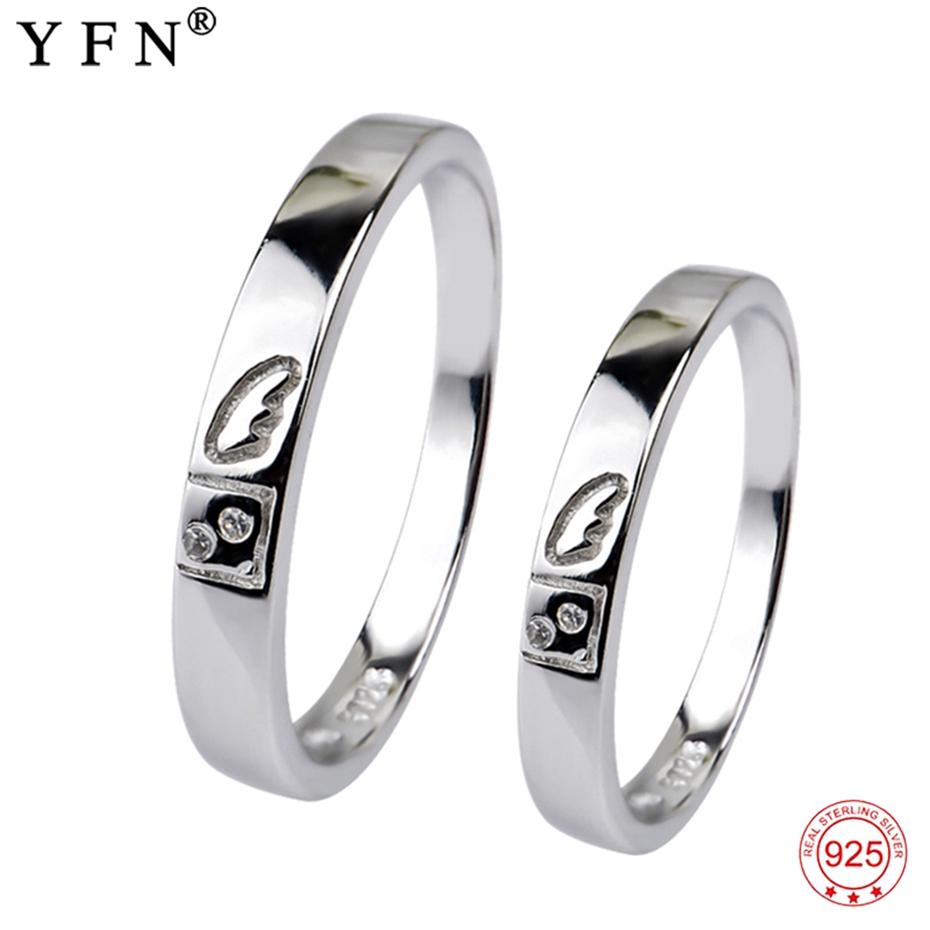 EE/_ Women Men Titanium Steel Wedding Band Tail Ring Couple Finger Jewelry Cheap