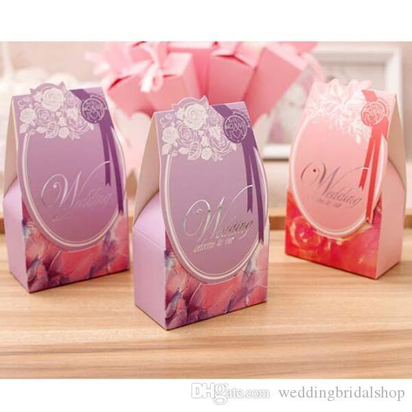 FUCHSIA SILK Hot Pink Range Luxury DIY Wedding Party Favour Gift Sweet Boxes
