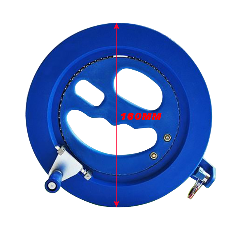 High Quality 16cm Kite Reel ABS Plastic Blue 200m Kite Reel Grip Winder Flying Tools Winding Machine Kites & Accessories
