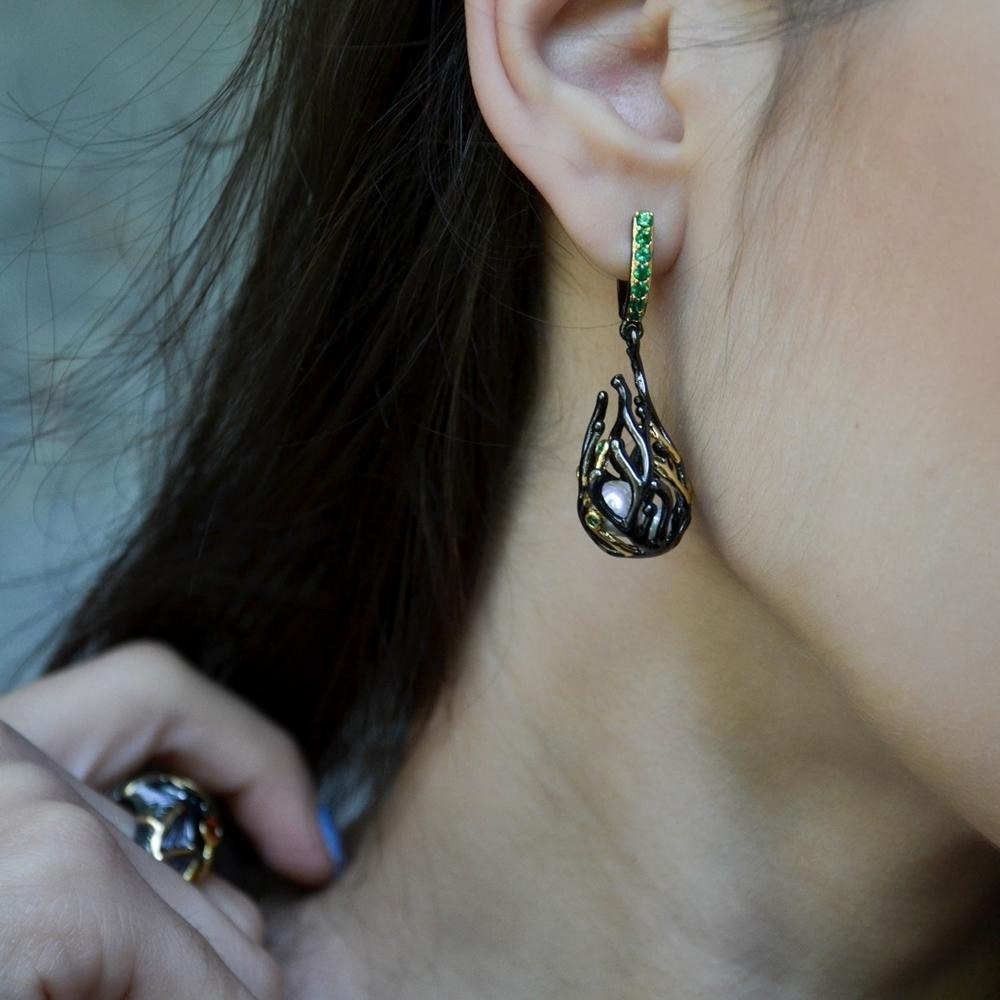 WE3771 pearl earrings women (5)