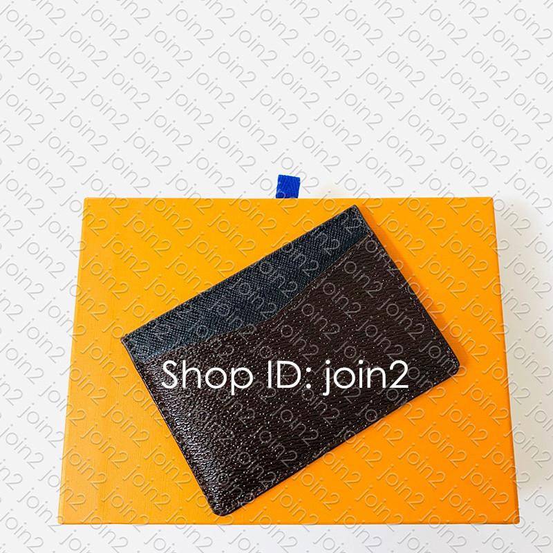 M60166 NEO PORTE CARTES Designer Mens Unisex Mini Key Coin CARD HOLDER Pouch Cle Pochette Accessoires Pocket Organizer Passport Cover WALLET