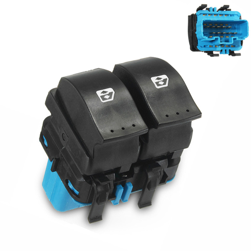 RENAULT Kangoo Clio II Power Window Switch Regulator Button 5 Pins 7700307605