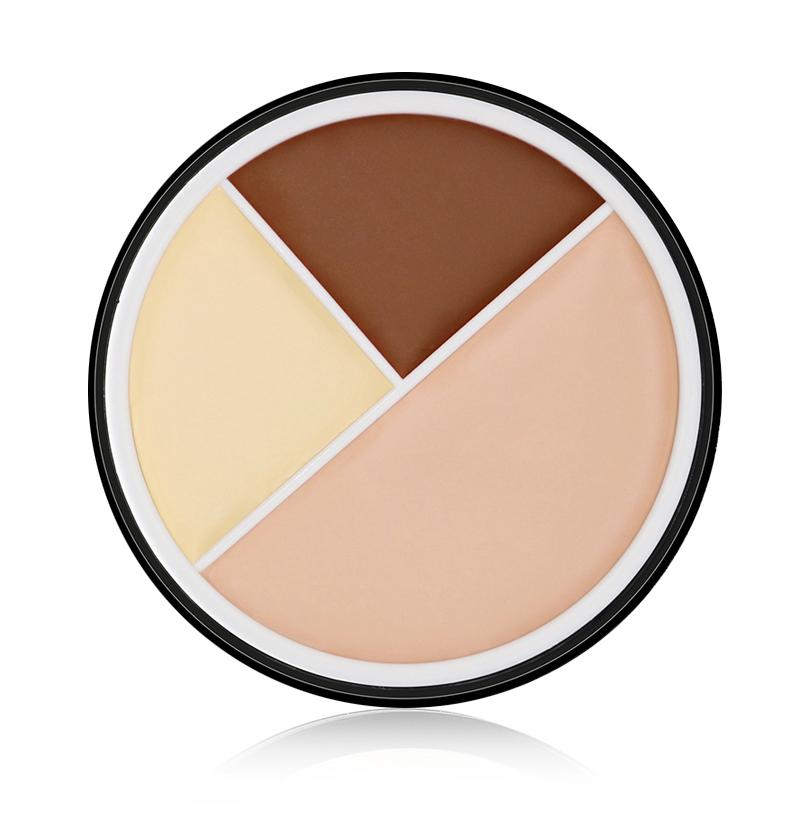 MISS ROSE 6 Colors Face Makeup CC Color Corrector Blemish Concealer Cream Base