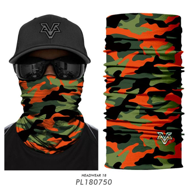 Army Veteran Outdoor Face Mouth Mask Windproof Sports Mask Ski Mask Shield Scarf Bandana Men Woman