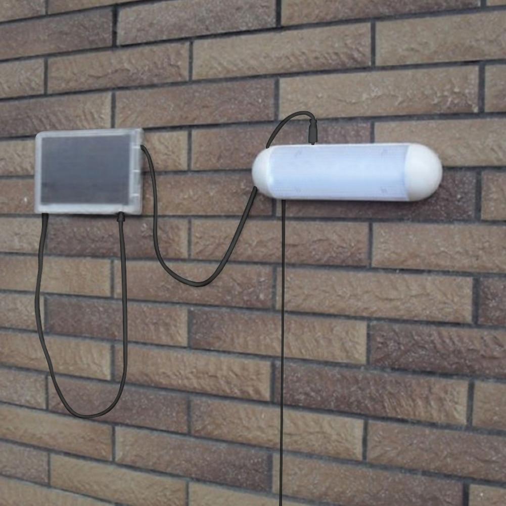 Lampe Energie Solaire Interieur nouveau amovible 10led murale murale Énergie solaire extérieure extérieure  imperméable À l'eau Économie d'énergie rue cour chemin voie jardin sécurité