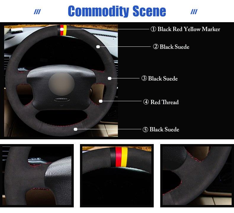 for Volkswagen Passat B5 steering wheel covers