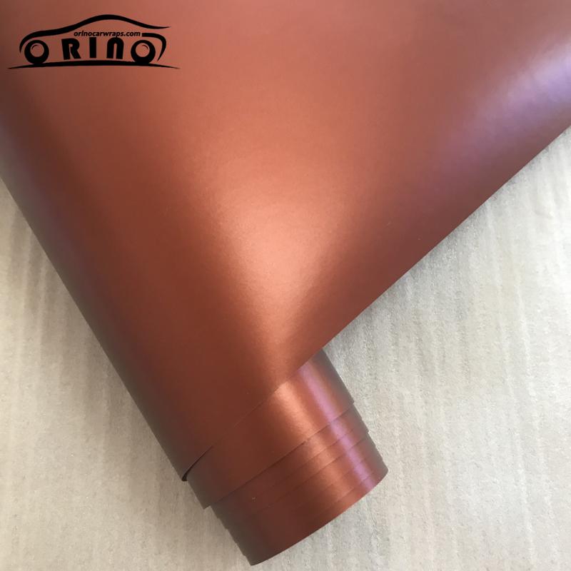 Metallic Chrome Coffee Vinyl Film Wrap-3