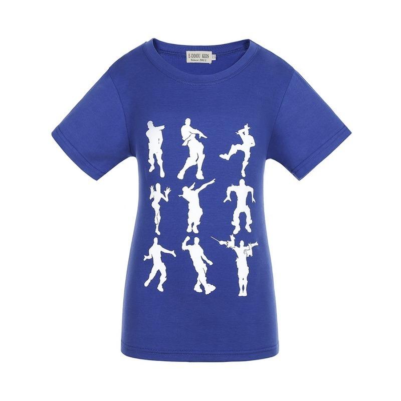 FLAMINGO bambini T-shirt Paradiso Tropicale Club Ragazze Manica Corta Tee Top