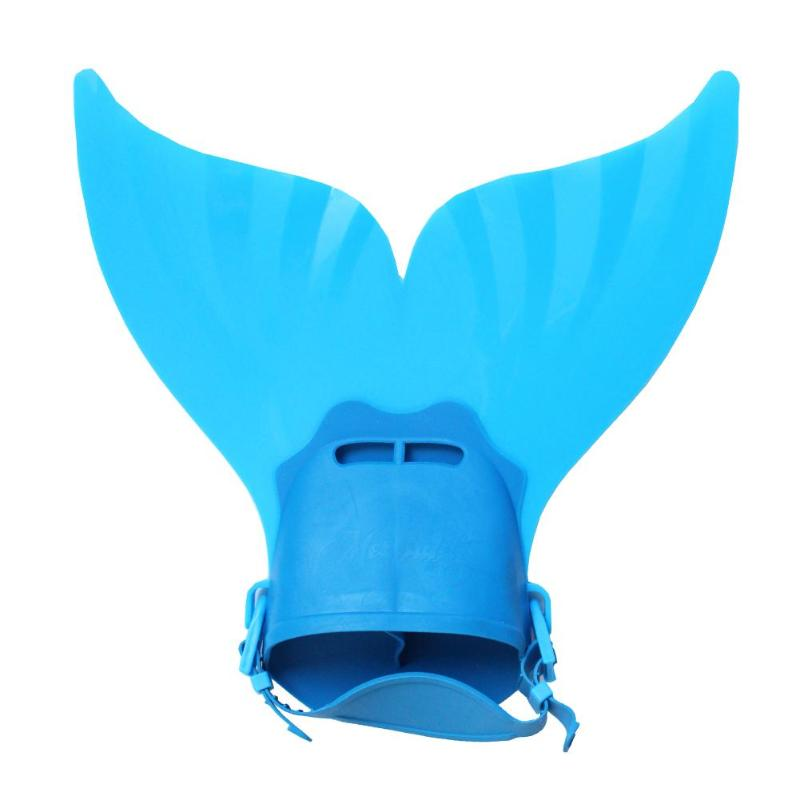 Cute Kid Swimming Fin Children Monofin Mermaid Flippers Diving Swim Fin Foot Flippers Monofin Water Sports Training Shoes