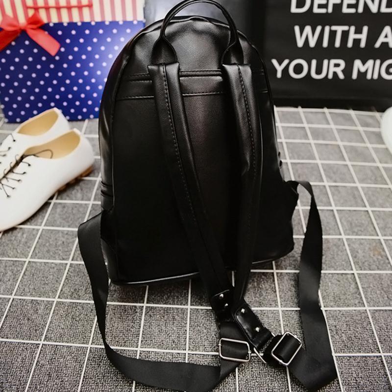 Designer-New Fashion Brand Designer Unique Little Monster Backpack Women Men Cute Bird Face Backpack School Bags for Women