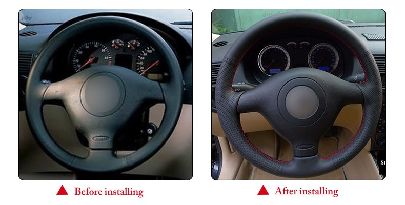 for VW Passat B5 1996 steering wheel cover