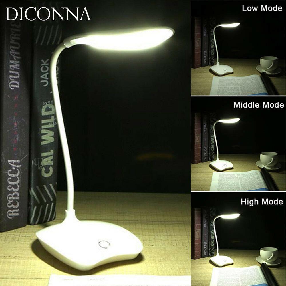 USB Plug con Luz Fr/ía y C/álida 2 modes Lampara LED para lectura y tatuaje y maquillaje Lampara de Escritorio