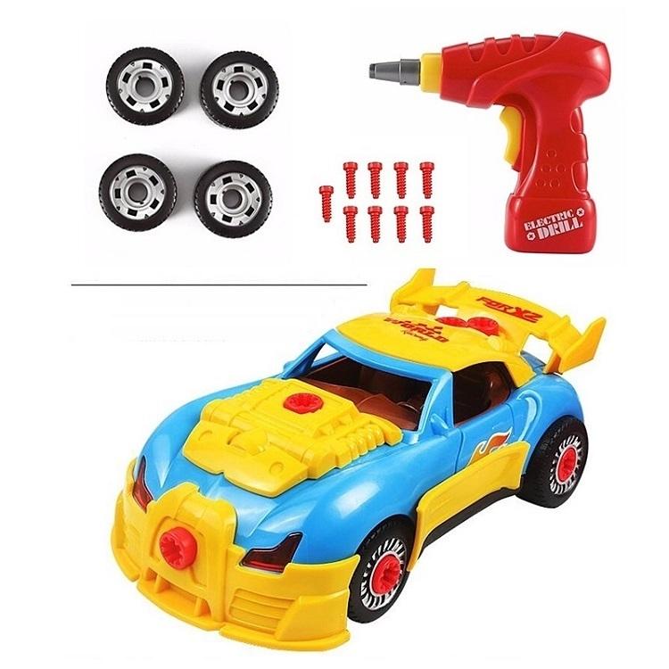 kid child toy Assembly Take Apart Race Car Construction Toys Kit tools Sound UK