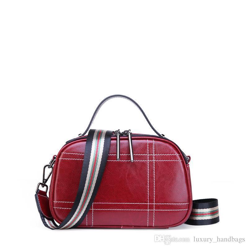Echtes Leder Umhängetaschen Rindsleder Tasche Handtasche Designer Handtaschen Tragbare Echtes Leder Tasche