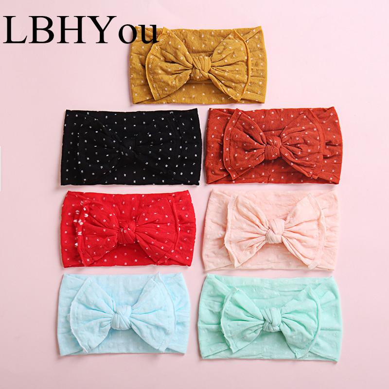 20 Couleurs bébé fille en mousseline de soie Fleurs Doublé hair bows clips pour ados filles bébés