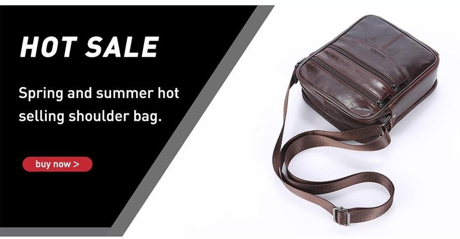 genuine leather bag men crossbody bag for men shoulder bag small