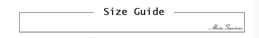 size guide-alicia