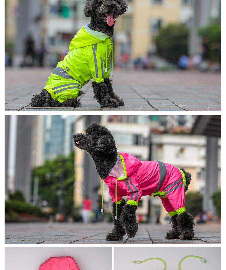 Dog Rain Coat (9)