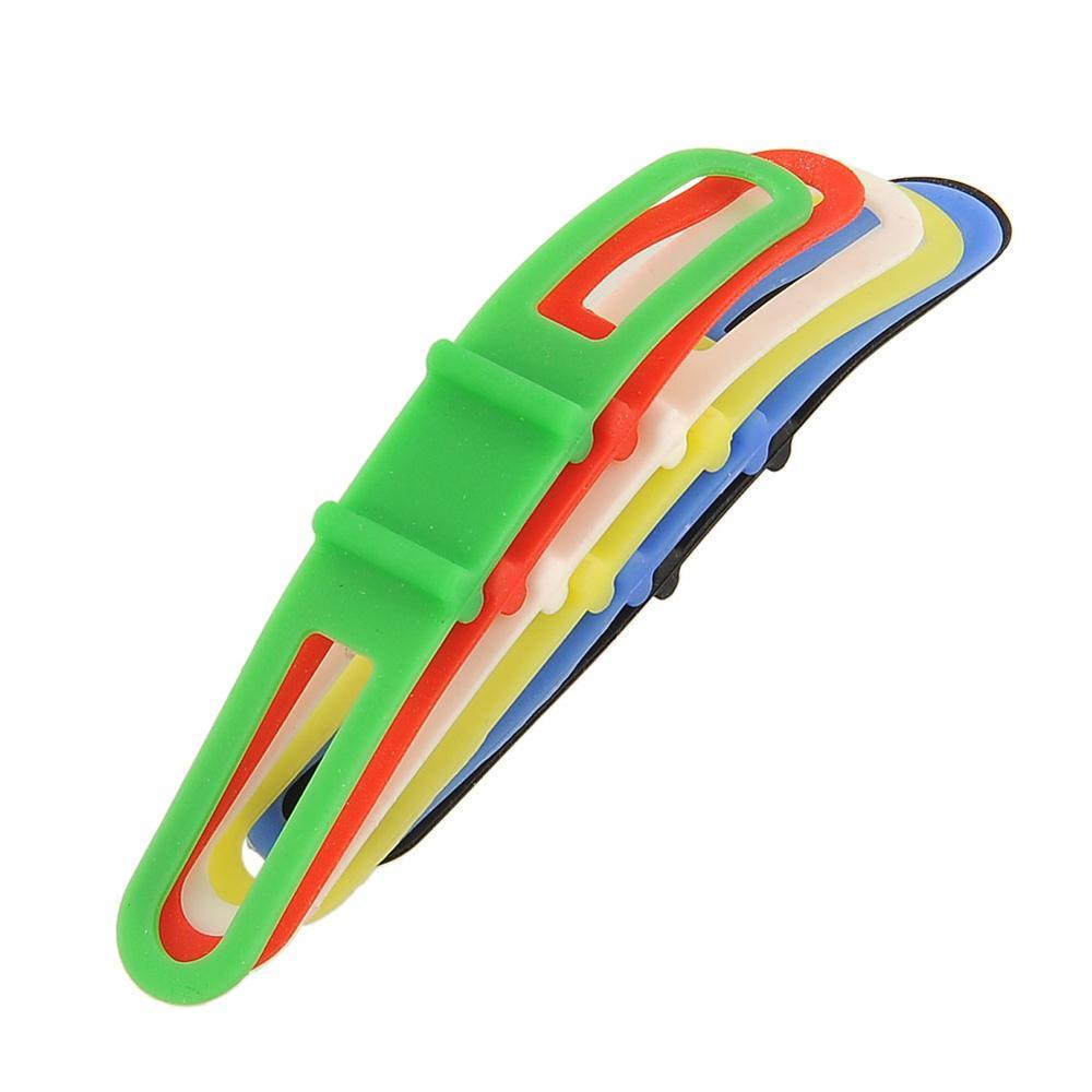 Silicon Strap Mountain Road Bike Torch Phone Flashlight Bands Elastic Bandage Bicycle Light Mount Holder Bike Accessories