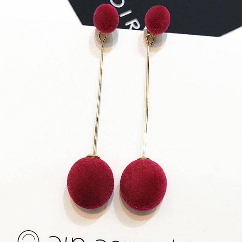 Dawery Cute Cherry Stud Earrings for Women Gift Simple Style Statement Earrings