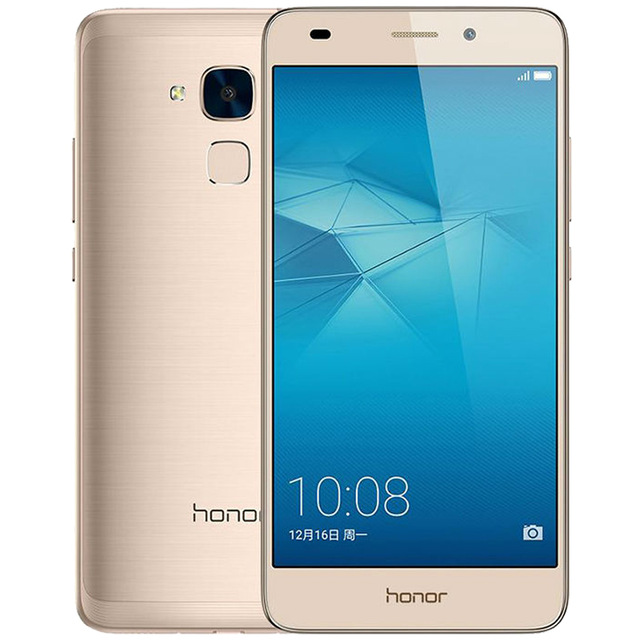 Original Huawei Honor 5C Play 4G LTE Cell Phone Kirin 650 Octa Core 2GB RAM 16GB ROM Android 5.2 inch 13MP Fingerprint ID Smart Mobile Phone
