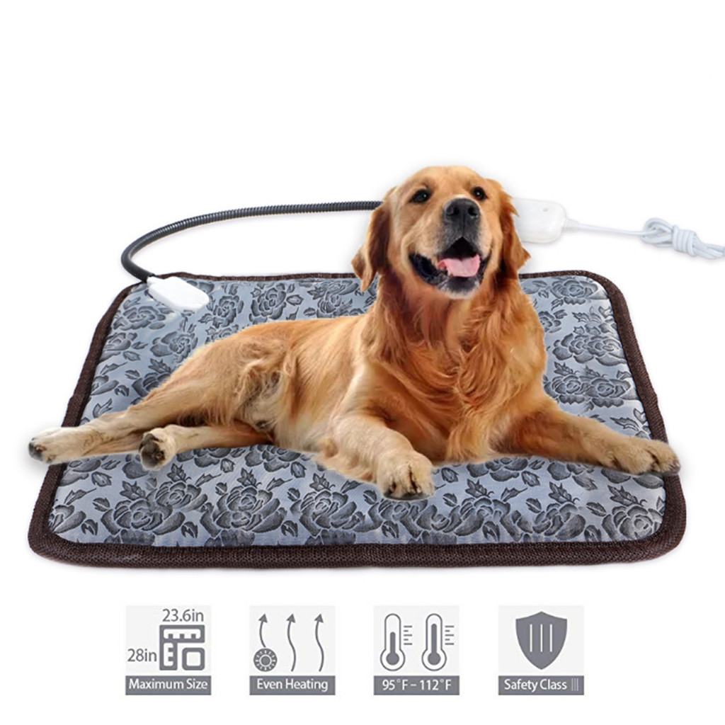 Auto climatizada Calefacción Térmica Cama del Animal Doméstico Lavable Super Cálido Mat Alfombra Cojín Perro Gato