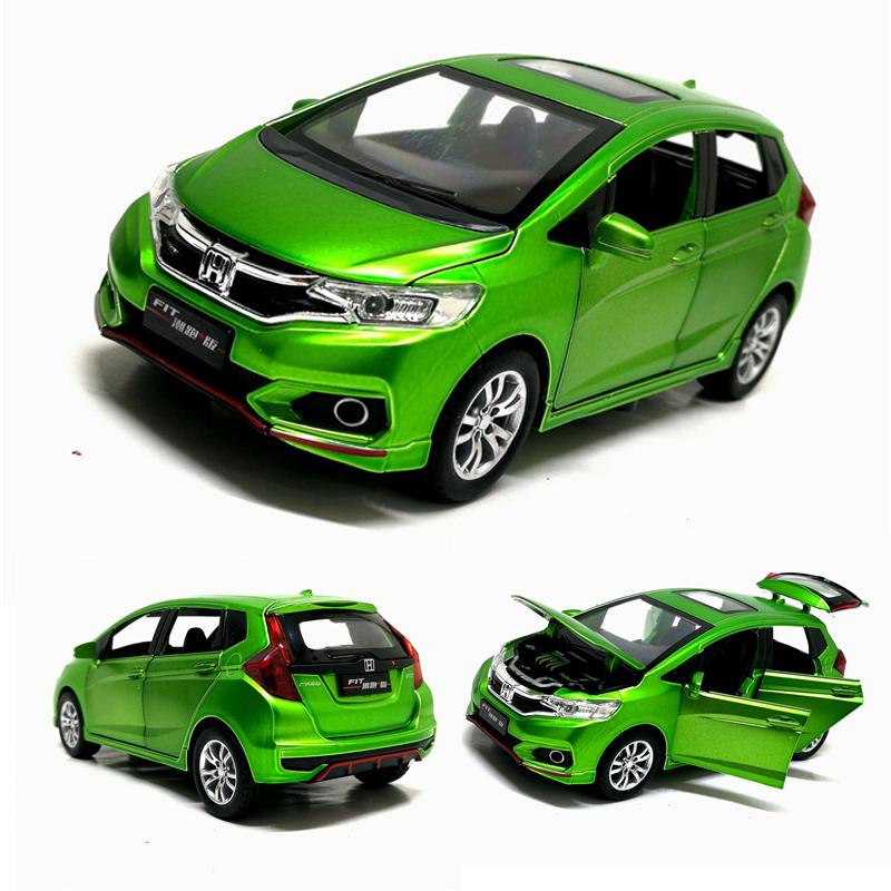 2015 Honda Fit w// lights Promotional pullback car Keychain
