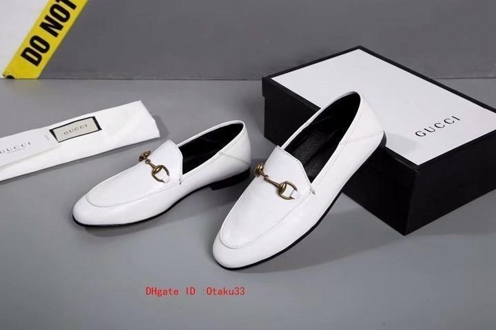 Meilleures ventes 2019 femmes cuir Mode Mocassins de haute qualité Mocassins Shoes Souliers simple 0915JP03