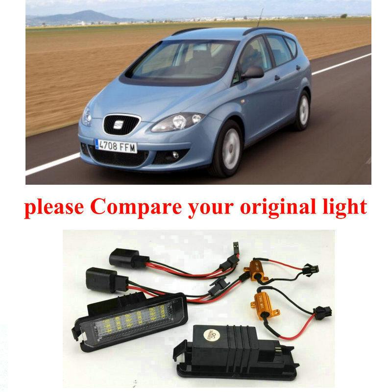 1x Vauxhall Meriva MK1//A Bright Xenon White LED Number Plate Upgrade Light Bulb