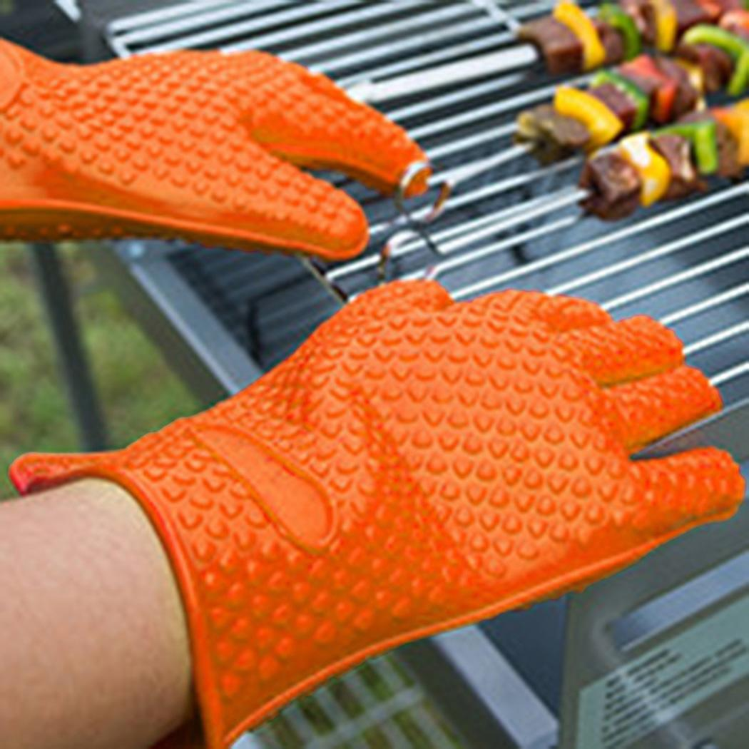 Fashion New Microwave Oven Baking Barbecue High Temperature Gloves Versatile Heat Resistant Gloves New Fashion Household Items