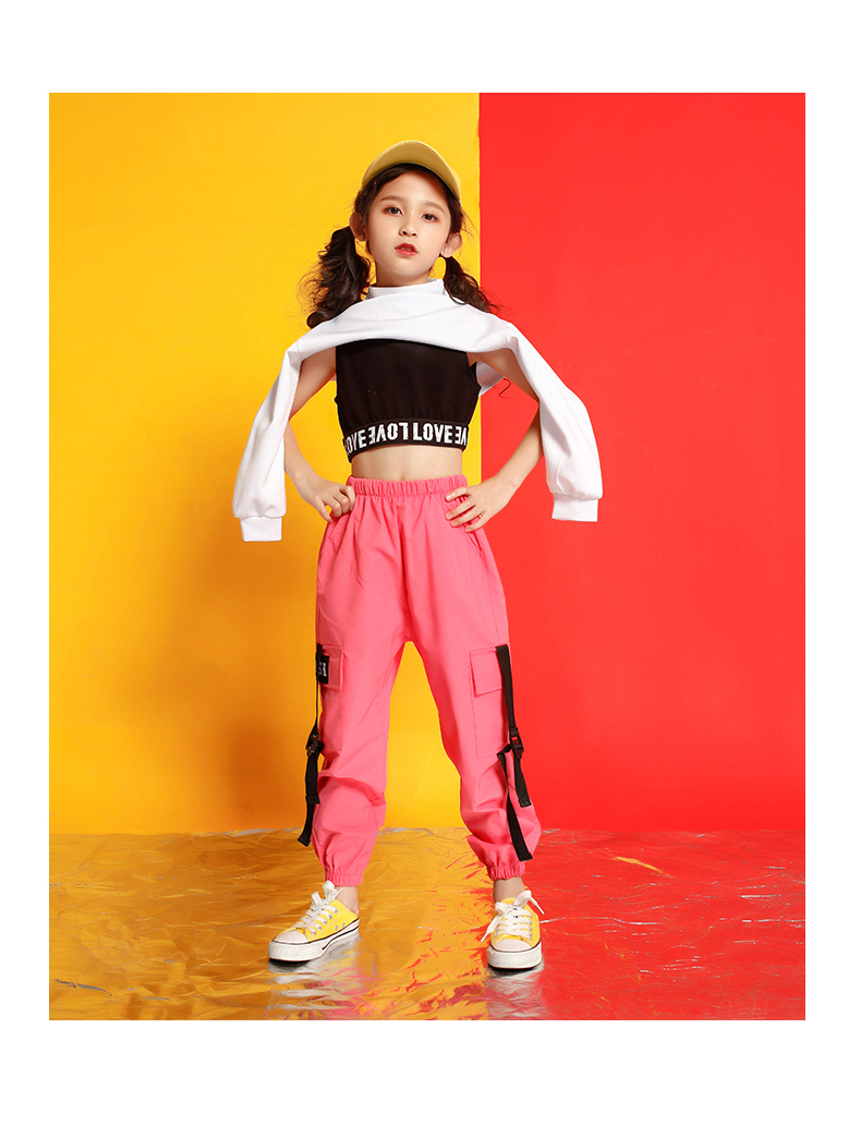 Girls boutique outfits 4 6 8 10 123 14 16 18 Years hip hop hoodies sweatshirts kids costumes girls kids summer clothes (10)