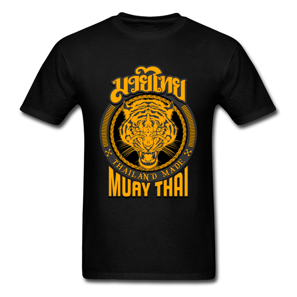 Muay Thai Tiger Phuket Thaïlande Cool Rétro Vintage Hipster Unisexe T Shirt 1671