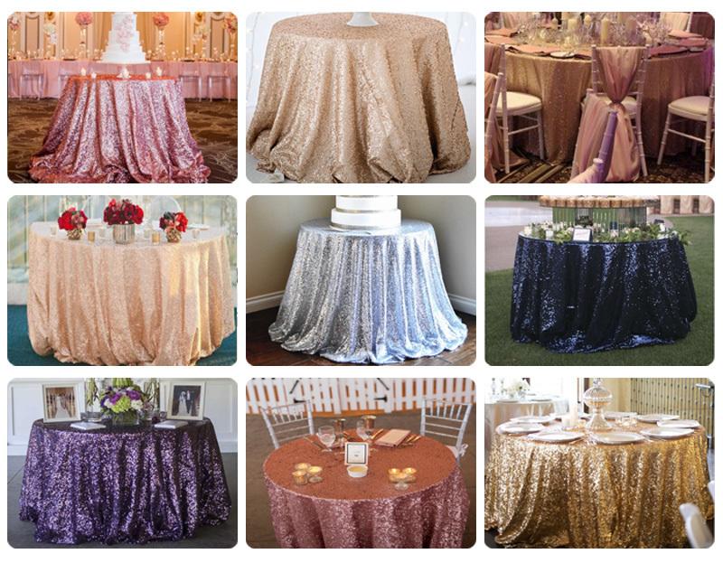 sequin tablecloth008