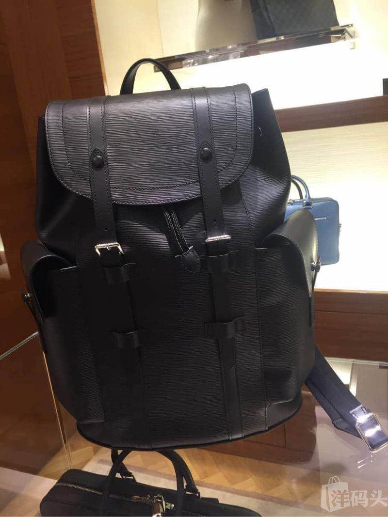 / Louis Vuitton 18 new Christopher small Epi backpack M50159