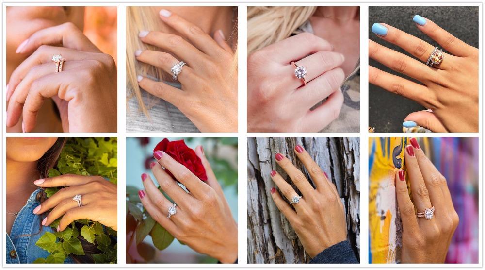 Rings hand