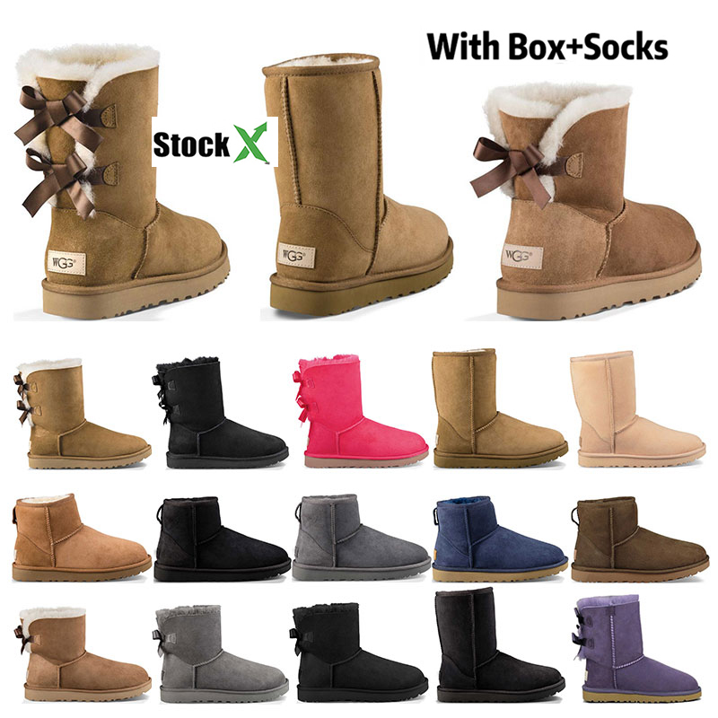 Winter Bread Skin Snow Boots Women Thick Anti Slip Boots Short Cotton Padded Bare Short Shoes