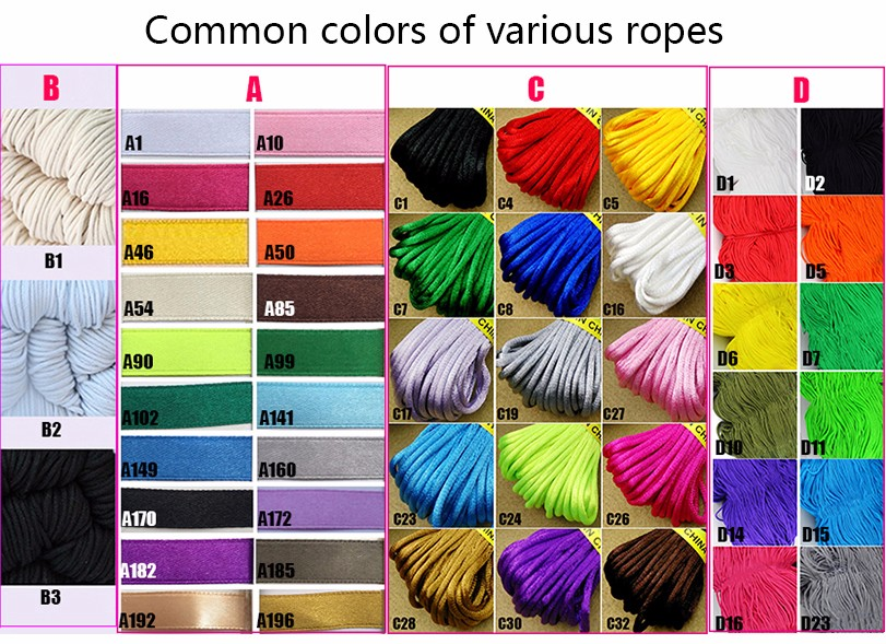 rope common color