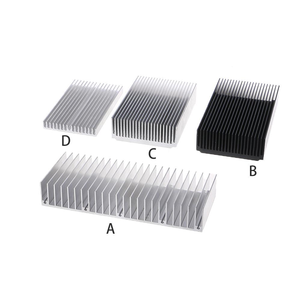Heat Radiator Board Cooling 160x80x26.9mm Aluminum Heat Sink Cooler Fin