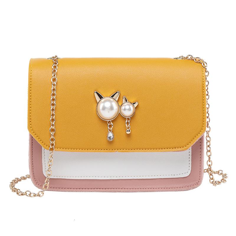 Slanting Bag Female 2019 Summer Fresh Chain Small Square Package Handbag Bags Handbags
