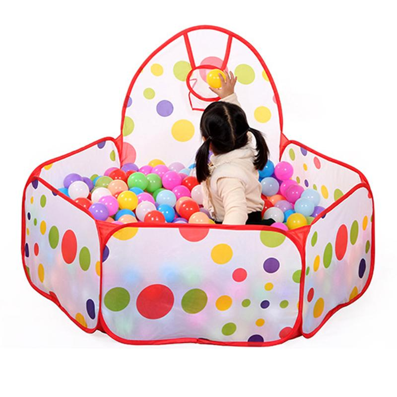 New Foldable Children Toys Tent Kid Ocean Ball Pit Pool Game Play Tent Ball Indoor And Outdoor Tent for Kids Children Ball Pit