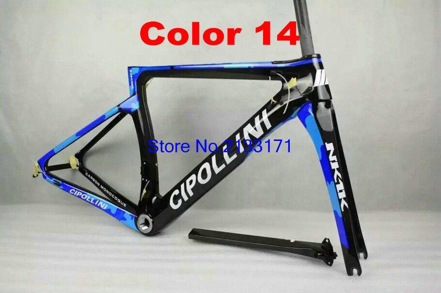 14 Cipollini NK1K 3K Di2 Carbon Bike Frame